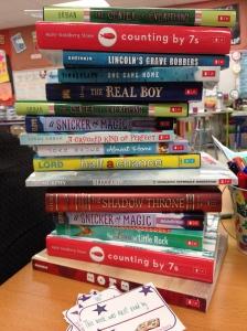 I get it. All I want to do is go home and read these too!